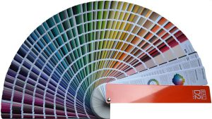 Color catalog for painting walls