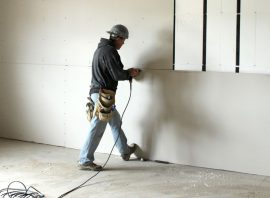 Drywall Contractor: Residential House, Office or Commercial Property – Drywall Installation & Plastering