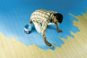 Paint floor