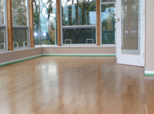 Baseboard installation and painting