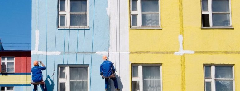 What is necessary for Exterior Painting