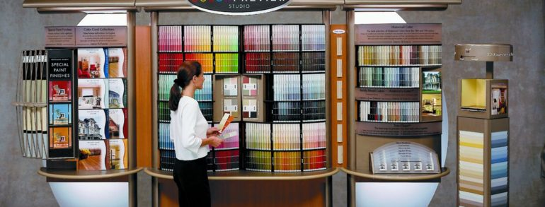 Color Mixing System: All colors of the Rainbow