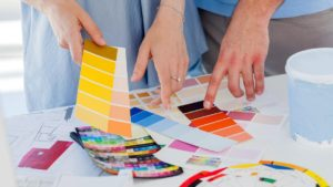 All kinds of paints: this colorful world
