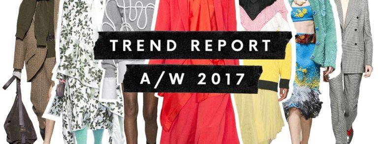 10 most fashionable colors autumn/winter 2017/2018