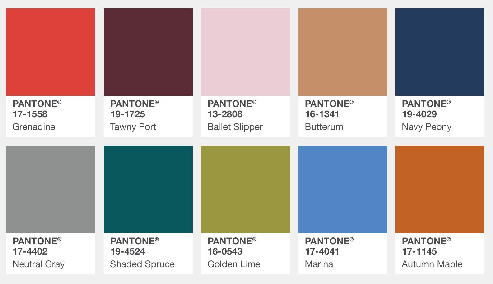 Fashion Color Report