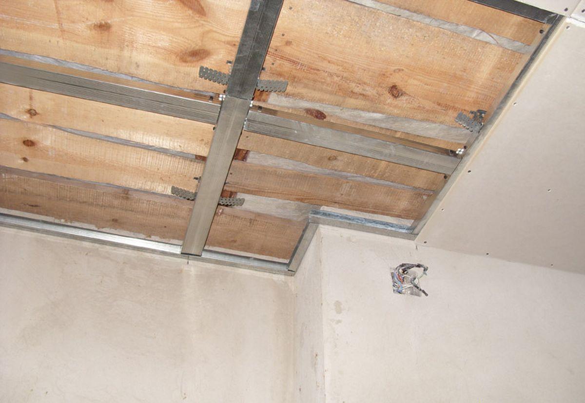 install drywall ceilings