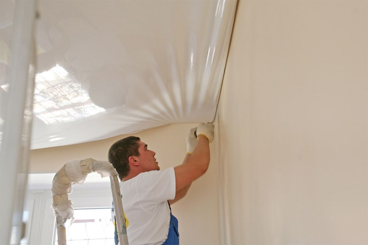 install stretch ceilings