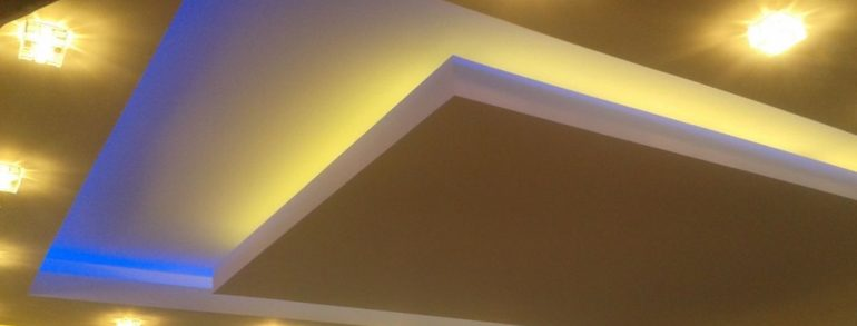 Finishing the Drywall Ceiling