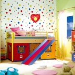Paint the children's room correctly, practical and beautiful + 199 ideas for the design of the kid's room