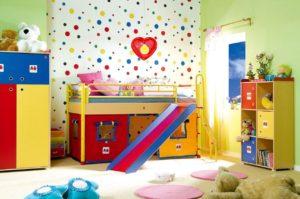 Paint the children's room