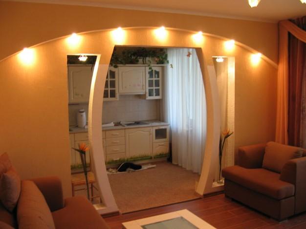 Drywall arches