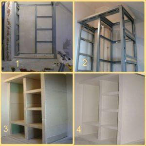 Drywall cabinet