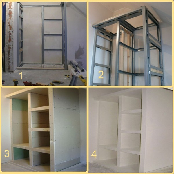 Drywall cabinet