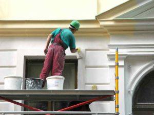 Restoration of the facade