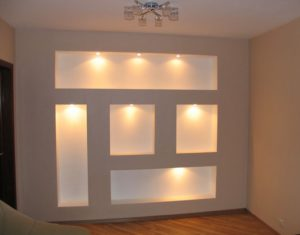 shelving from plasterboard