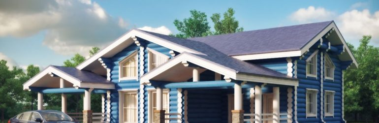 Painting wooden house. How to preserve the effect for a long time
