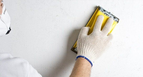 Preparation of walls for painting