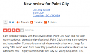 New review for Paint City
