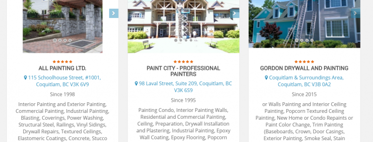 The Best Painters in Coquitlam