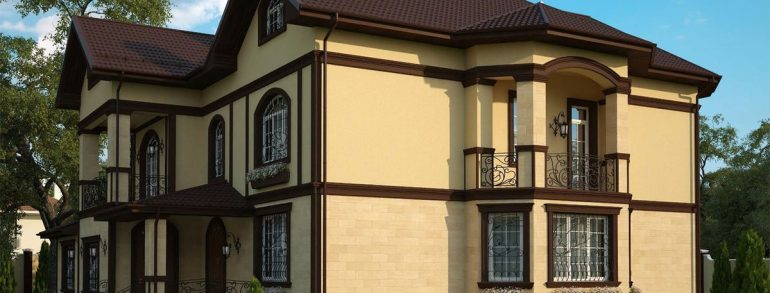 Is it possible to paint the facade of the house in the heat?