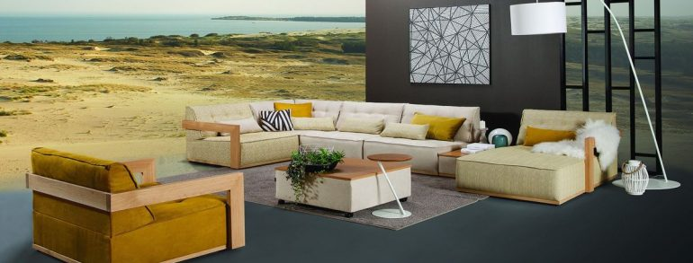 Key features of the well-balanced design of the room