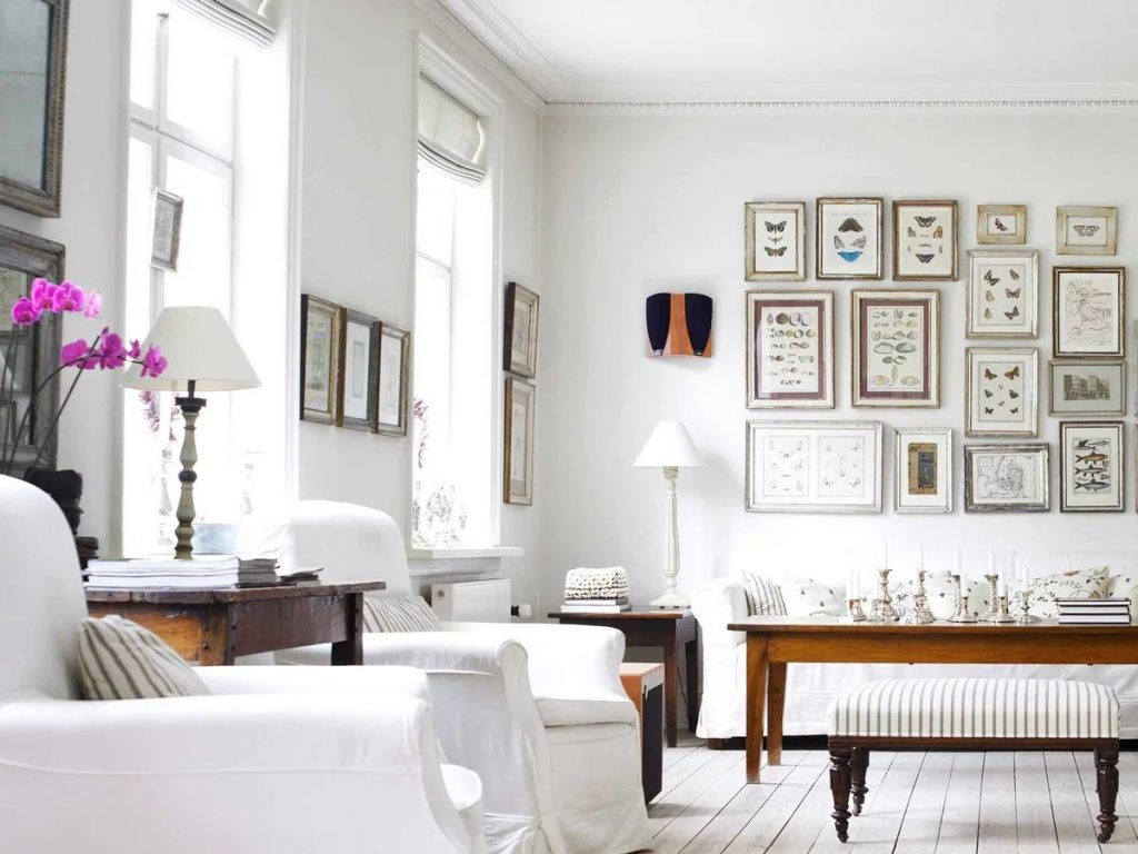 White color increase living space