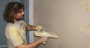 The drying time of the plaster
