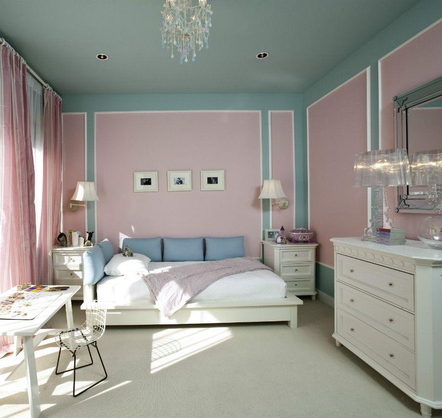 paint ceiling in bedroom