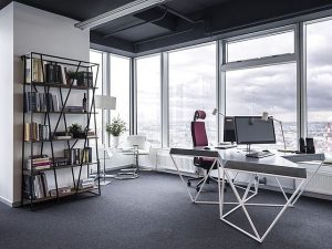 Gray color in office