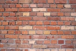 brick wall from a plaster