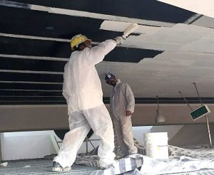 Installation FRP Wall and Ceiling Panels