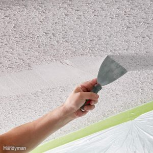Remove a Popcorn Ceiling