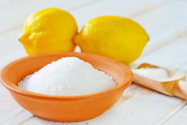 Vinegar or citric acid