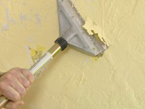 How To Remove Texture From A Wall and Get a Smooth Look