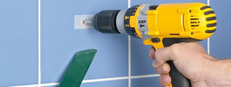 How to drill tile and glass