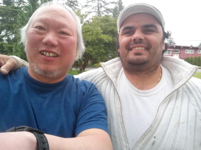 Chi Yan Wong and Alan Mityev