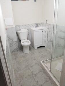 Bathroom and kitchen renovation
