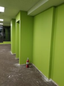 Commercial space renovation in Vancouver